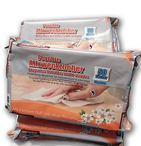 Radami 200 - Toallitas húmedas Multiusos para Limpieza de Coche