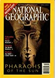National Geographic April 2001 (VOL. 199, NO. 4):Pharaohs of the Sun