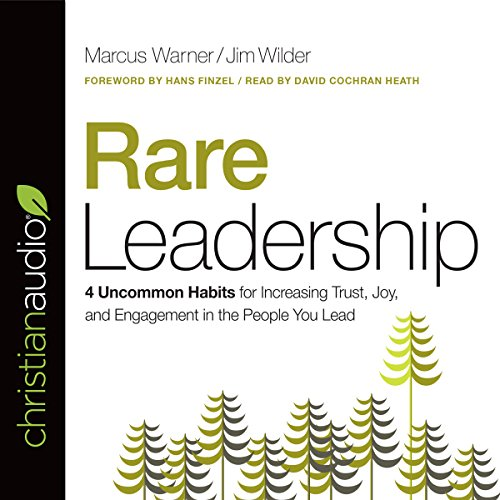 Rare Leadership audiobook cover art