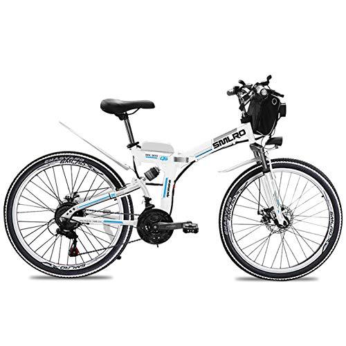 Knewss 26 Zoll zusammenklappbare leistungsstarke Elektrofahrräder Mountain Fat Scooter Erwachsene Fahrrad E-Bikes Eletric City Bike 48V 13AH 500W-48V20AH500W