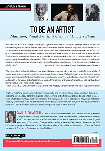 To Be An Artist: Musicians, Visual Artists, Writers, and Dancers Speak