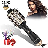 Aokebeey Hair Dryer Brush, Upgrade 5 in 1 Hot Air Styler and Volumizer, Negative Ionic Curler Straightening...