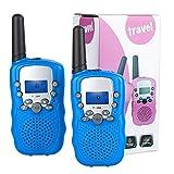 Lictin Walkie Talkie Kinder Funkgeräte - 3km Reichweite 8 Kanäle Walki Talki mit Taschenlampe Spielzeug Geschenk für Kinder