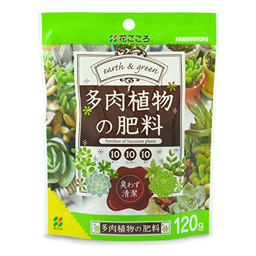 花ごころ:多肉植物の肥料 120G