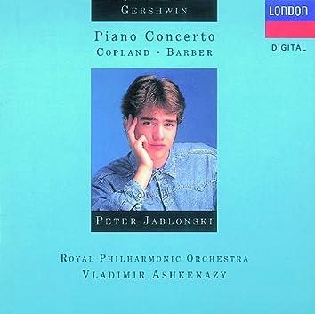 Gershwin: Piano Concerto/Copland: El salón Mexico, etc.