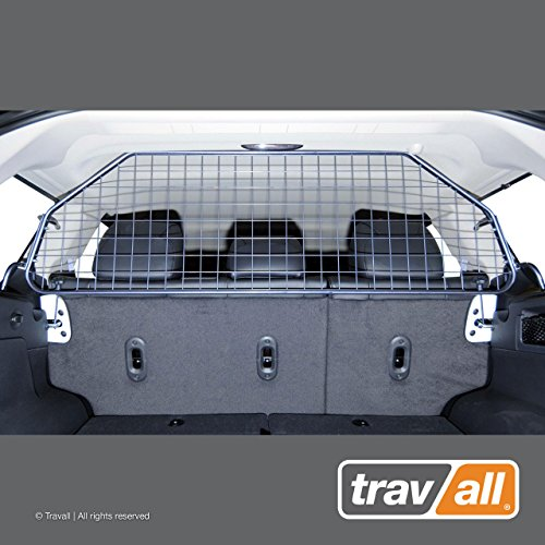 Travall Guard Compatible with Jeep Grand Cherokee WK/WH (2005-2010) TDG1375 - Rattle-Free Steel Vehicle Specific Pet Barrier