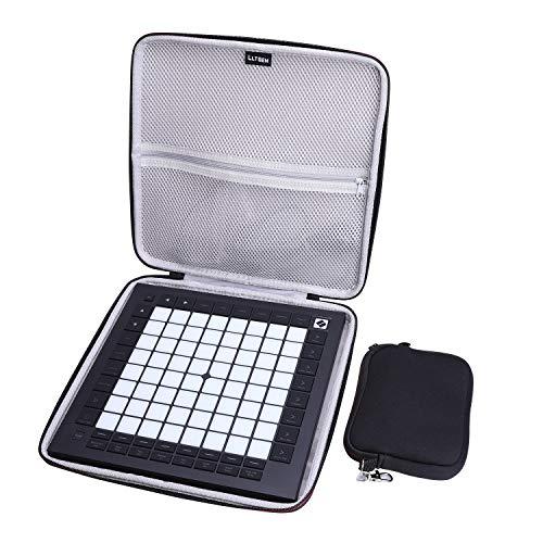 LTGEM Hart Reise Tragen Tasche für Novation Launchpad Pro MK3 DJ Controller Midi Keyboard Schutz Hülle Keybord Case