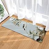 OPLJ Paisaje clásico con impresión 3D Piso de la Puerta de Bienvenida, Alfombra del Dormitorio de la Sala de Estar, Alfombra Lavable Antideslizante de la Cocina del baño A3 40x120cm