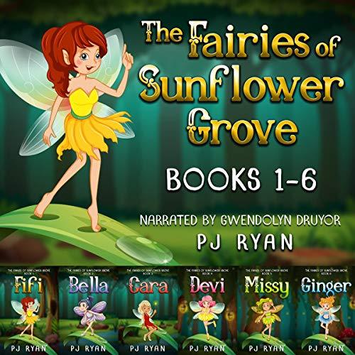 The Fairies of Sunflower Grove audiobook cover art