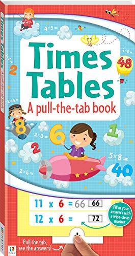 Times Tables a pull-the-tab book