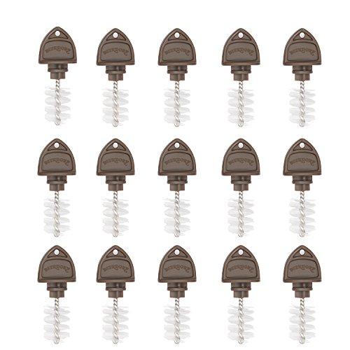 Beer Tap Plugs Brush, Beer Faucet Brush Plugs for Draft Beer Faucet Cap - 15 Pack