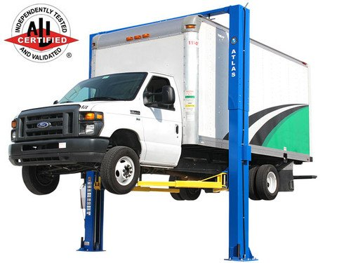 Atlas Apex 12 ALI Certified Overhead 12,000 lb. Capacity Adjustable Height 2 Post Vehicle Lift