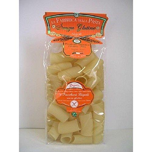 La Fabbrica Pasta Gragnano 50593 Pasta Paccheri Rigati Senza Glutine, 500 grr