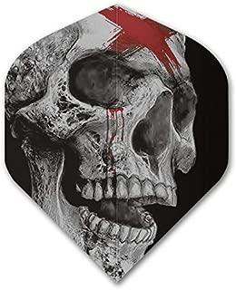 US Darts 2 Sets (6 Flights) Alchemy Dead Skull Standard Dart Flights