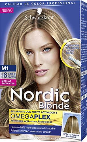 Schwarzkopf Nordic Blonde - Tono M1 Mechas Radiantes