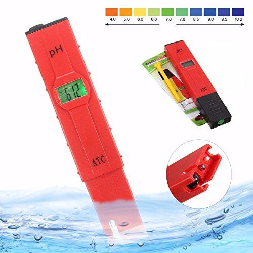 Jiguoor numérique de poche testeur Mètre Pen -- Outil de mesure avec moniteur LCD Utilisation pour aquarium, l'eau de la piscine, laboratoire