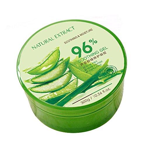 Gel d'Aloe Vera naturel Gel d'Aloe Vera biologique Hydratant pour le visage Gel d'Aloe Vera pur avec des ingrédients hydratants Soins de la peau pour les cheveux du corps du visage