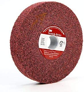 8//PK 3M Scotch-Brite 13741 EXL Unitized Wheel 6 Inch X 1//4 Inch X 1//2 Inch 2S FIN //// 7000028449