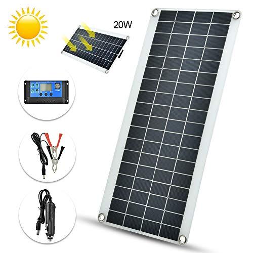 El panel solar, nuevo material resistente al aire libre policristalino flexible al aire libre del panel solar 20W impermeable y durable