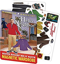 Image: The Unemployed Philosophers Guild Hello Neighbor - Mister Rogers Magnetic Dress Up Play Set
