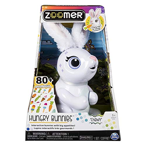 Spin Master Italia S.R.L- Hungry Bunnies Zoomer, Multicolor