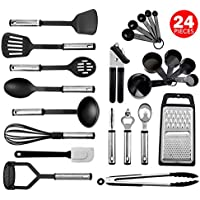 24-Pieces Kaluns Non-Stick and Heat Resistant Cooking Utensils Set
