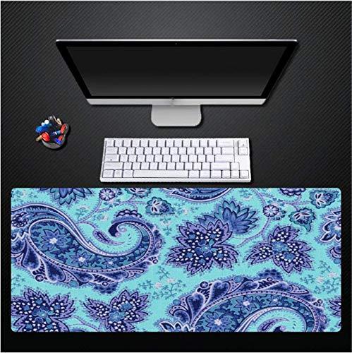Natuurrubber muispad computer spel blokkering verdikte toetsenbord mat office deskpad 30 * 80 cm