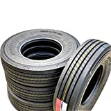 Set of 4 (FOUR) Transeagle ST Radial Premium Trailer Radial Tires-ST225/75R15 225/75/15 225/75-15 124/121L Load Range G LRG 14-Ply BSW Black Side Wall