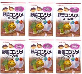 MS野菜コンソメスープの素30g(3g×10袋入り)×6個★送料無料ネコポス