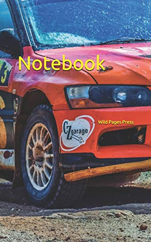 Notebook: Race car rally track competition action rallying cars motor racing motor sport