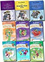 9 Books Set New Adventures of the Wishing Chair Collection (Adventures of Wishing-chair, Wishing-chair Again, More Wishing-chair Stories, Island of Surprises, Land of Mythical Creatures, Spellworld, Giantland, Land of Fairytales, Winter Wonderland)
