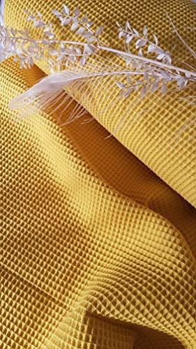 Generisch Tejido de piqué de algodón, por metro, ropa de bebé, ropa infantil, ropa infantil, 1,50 m de ancho, certificado Öko-Tex Standard 100