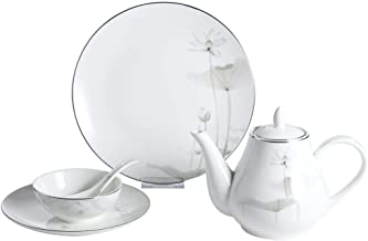 Home Kitchen Ceramic Dinner Tableware 25Pieces Package Sets