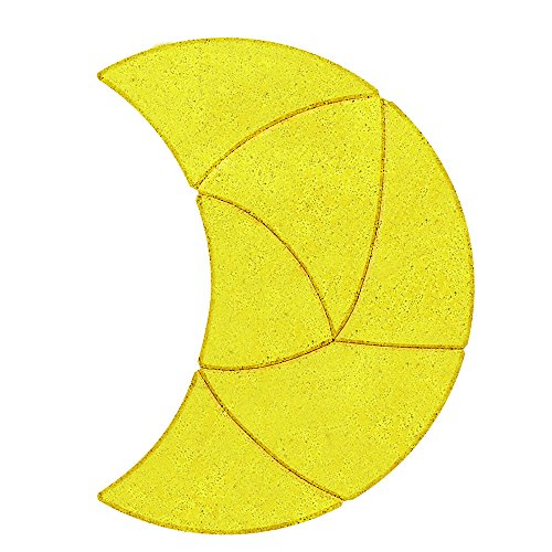 Anker - 2041694 - Puzzle en Bois - La Lune - 6 Pièces
