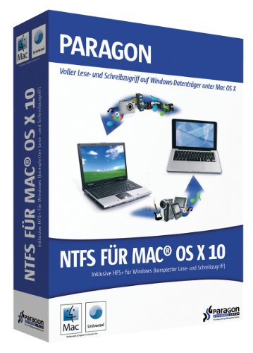 Paragon NTFS for MAC OS X 10