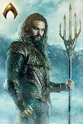 GB Eye, Justice League Movie, Aquaman Trident, Maxi Poster 61x91.5cm