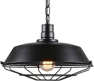 Amazon.com: Lámpara de techo industrial vintage – Lámpara de ...