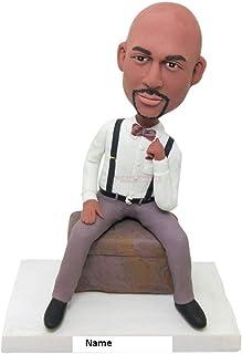 Bobblehead personalizzato Marito personalizzato Fidanzato Regalo Bobblehead Argilla Figurine Marito Regalo di compleanno F...