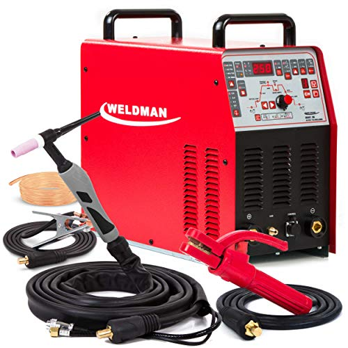 TIG Welder AC/DC Welding Machine Pulse Inverter Weldman Bravo TIG 250 AMP