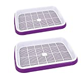 PeleusTech Double Layer Seed Starter Tray Seed Sprouter Tray Plant Grow Kit for Starting Plantings Propagation Germination - 2Pcs