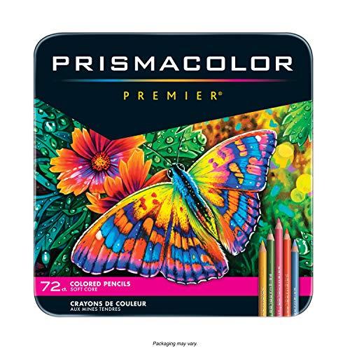 Sanford Prismacolor Premier Buntstifte, 72Stück, Mehrfarbig