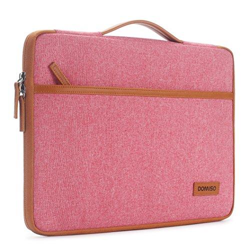 DOMISO 14 Zoll Laptop Tasche Sleeve Hülle Aktentasche Laptoptasche Umhängetaschen für 14