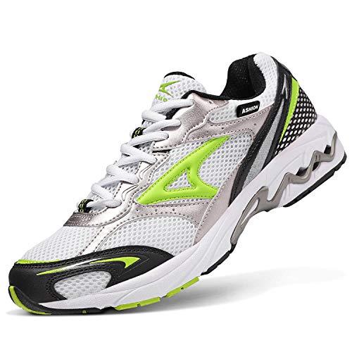 ASHION Straßenlaufschuhe Herren Sneaker Laufschuhe Sportschuhe Joggingschuhe Turnschuhe Walkingschuhe Traillauf Fitness Schuhe