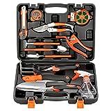 WYYZSS Mallette à Outils Complète Coffre à Outils en 12 Pièces Outils Bricolage Mecanique pour Entretien du Jardin Réparations Quotidiennes