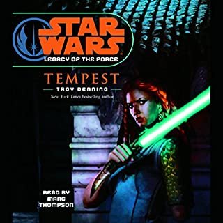 Star Wars: Legacy of the Force #3: Tempest audiobook cover art