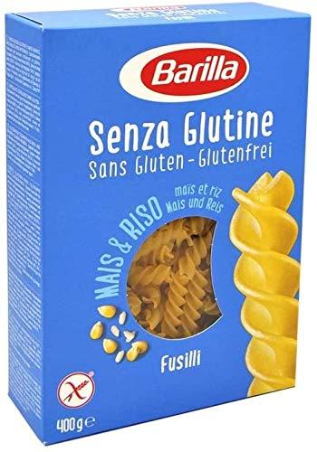 Barilla Pasta Fusilli glutenfrei aus Reis und Mais, 14er Pack (14 x 400g)
