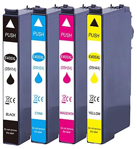 Druckerparadies kompatibel für Epson 405XL Epson 405 Druckerpatronen für Epson Workforce Pro WF-3820 WF-3825 WF-4820 WF-4825 WF-4830 WF-7830 WF-7835 WF-7840