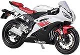 YaPin Model Car Modelo de la Motocicleta 1:18 Escala de la Motocicleta Yamaha YZF-R6 Simulación de aleación Modelo de Regalo de la decoración de la Serie (Color : Red, Size : 11.5 * 4.8 * 6.5cm)