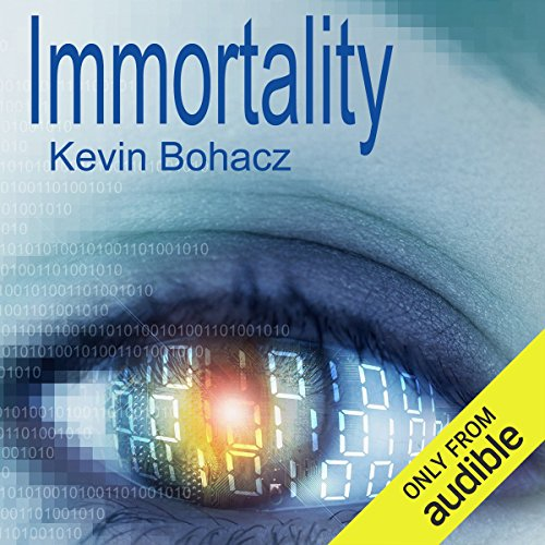 Immortality audiobook cover art