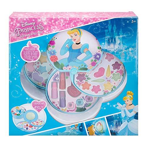 Disney Disney-77210 Bambini Valigia Principesse nios Set Trucco 5 aos Pintauas Nias Manicura Giocattolo (77210), Multicolore